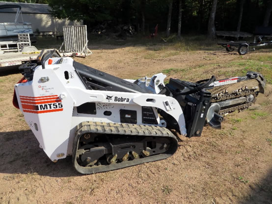 BOBCAT MT55 TRENCHER Equipment Rental