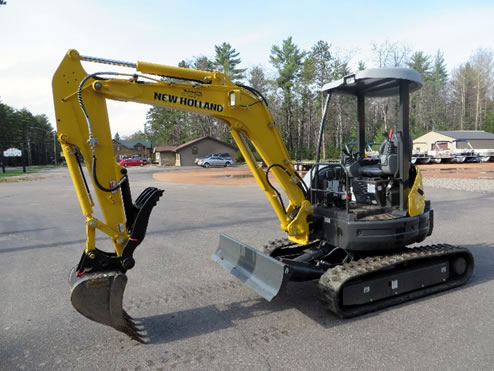 NEW HOLLAND E35 Equipment Rental