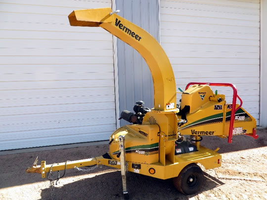 VERMEER BC600XL Equipment Rental